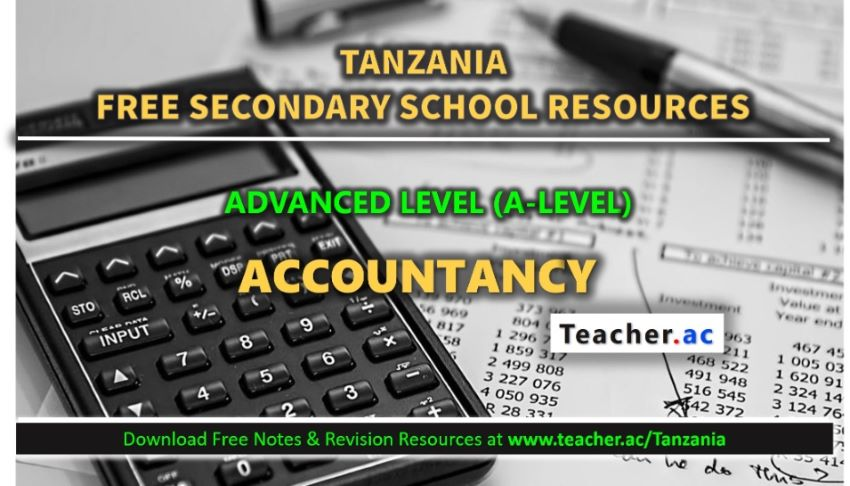 Form 6 Accountancy Notes