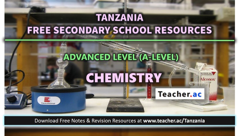 Form 6 Chemistry Notes
