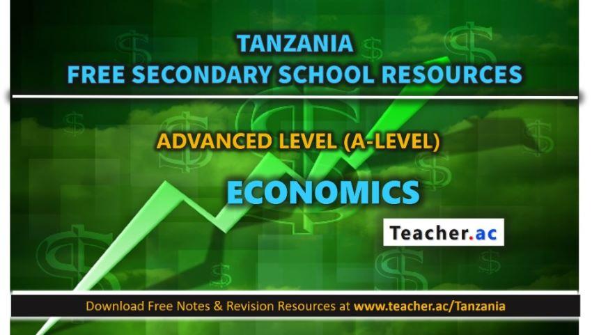 Form 5 Economics Notes