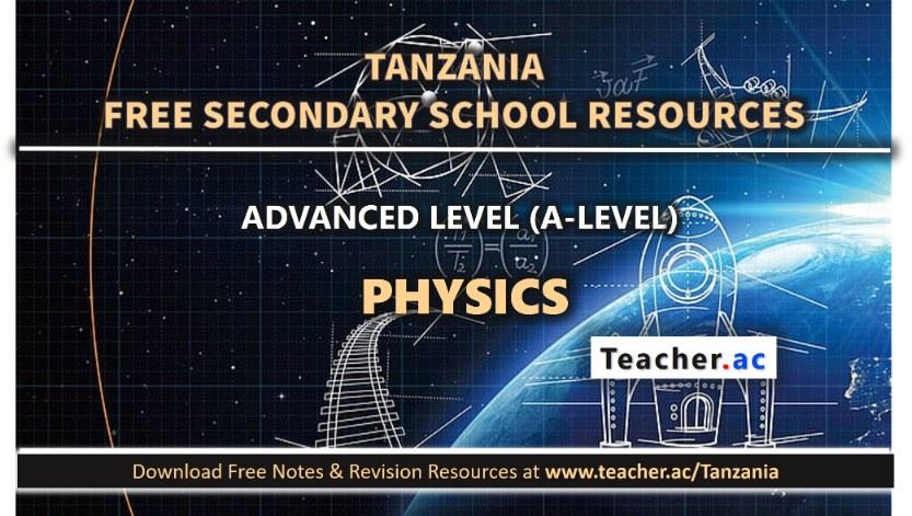 Form 6 Physics Notes